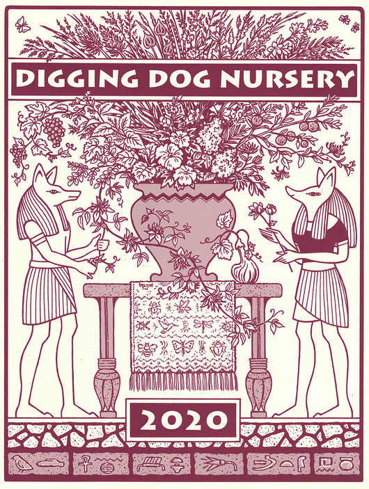 Digging Dog Mail-Order Plant Nursery Catalog Cover 2020
