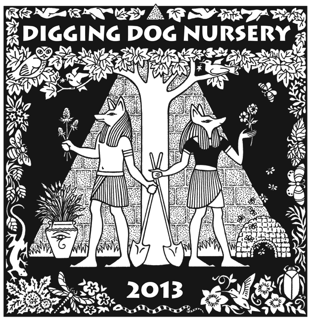 digging dog nursery t-shirt 2013